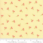 MODA FABRICS - Strawberry Jam - Tiny Floral Sunshine - #2768-