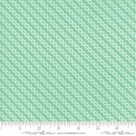 MODA FABRICS - Strawberry Jam - Stripe Mint