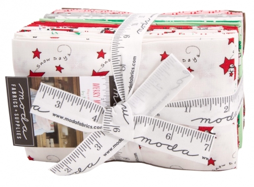 Merry Merry Snow Days 9x22 Cuts by Bunny Hill Designs Moda Precuts