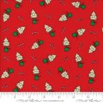 MODA FABRICS - Merry Merry Snow Days - Red