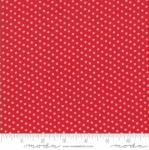 MODA FABRICS - My Redwork Garden - Red