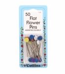 Collins Flower Head Pin Assorted Colors Size 32 - 2