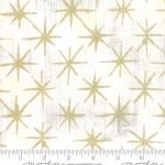 MODA FABRICS - Grunge - Seeing Stars Metallic - Vanilla