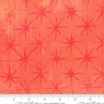 MODA FABRICS - Grunge - Seeing Stars - Papaya Punch