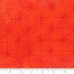 MODA FABRICS - Grunge - Seeing Stars - Tangerine