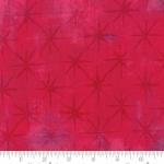 MODA FABRICS - Grunge - Seeing Stars - Raspberry
