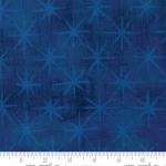 MODA FABRICS - Grunge - Seeing Stars - Cobalt