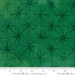 MODA FABRICS - Grunge - Seeing Stars - Kelly Green