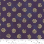 MODA FABRICS - Grunge Hits The Spot Metallic - Eggplant