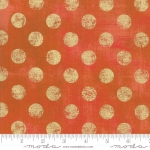 MODA FABRICS - Grunge Hits The Spot Metallic - Pumpkin