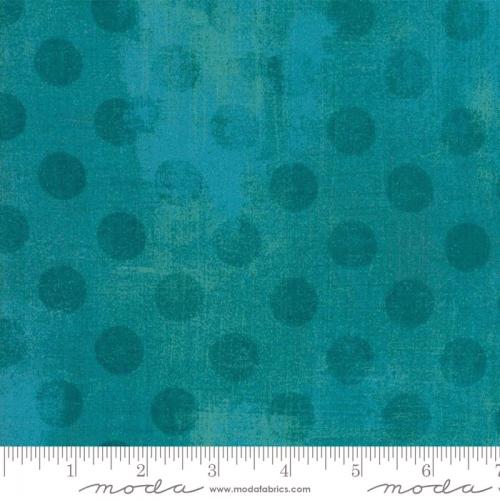 MODA FABRICS - Grunge - Hits the Spot - Ocean - #1010