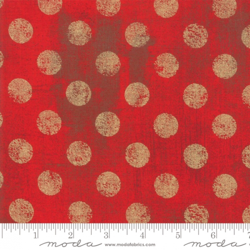 MODA FABRICS - Grunge Hits The Spot Metallic - Formula One