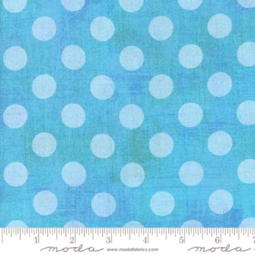 MODA FABRICS - Grunge - Hits The Spot - Blue - #1007