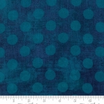 MODA FABRICS - Grunge - Hits the Spot - Prussian Blue