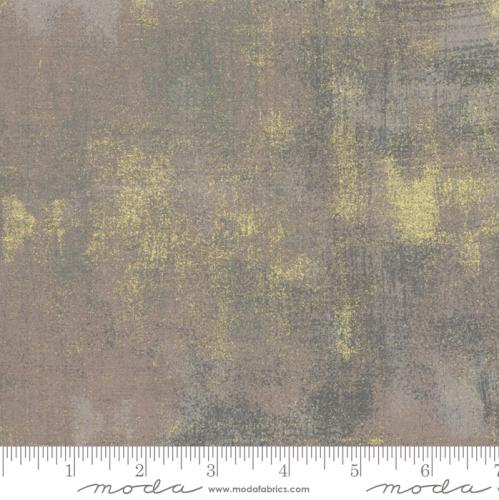 MODA FABRICS - Grunge Metallic - Grey Couture