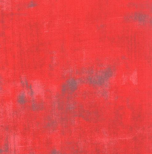 MODA FABRICS - Grunge - Geranium