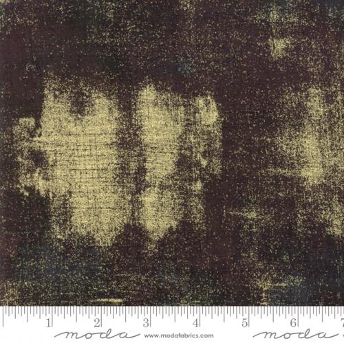 MODA FABRICS - Grunge Metallic - Expresso