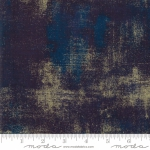 MODA FABRICS - Grunge Metallic - Peacoat
