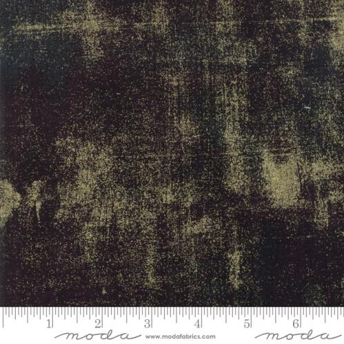 MODA FABRICS - Grunge Metallic - Onyx