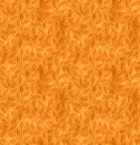 WILMINGTON PRINTS - Happy Gatherings - Tonal Leaves Orange