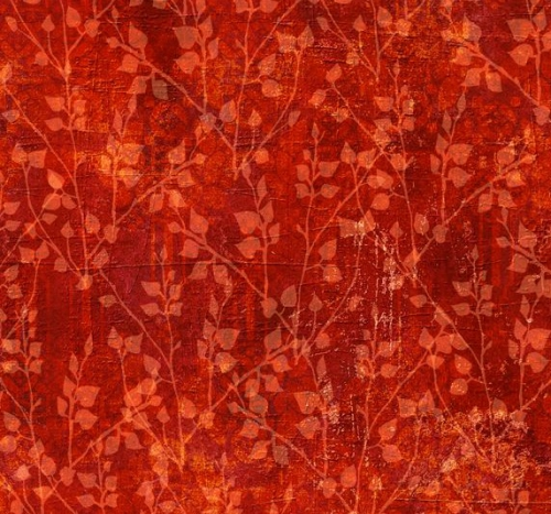 WILMINGTON PRINTS - Jardin Du Soleil - Red