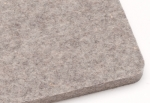 Premium Gray Wool Large Pressing Mat