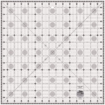 Creative Grids Charming Itty Bitty Eights Square XL 15x15 Quilt Ruler CGRPRG4