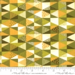 MODA FABRICS - Nova - Diamonds Olivenite