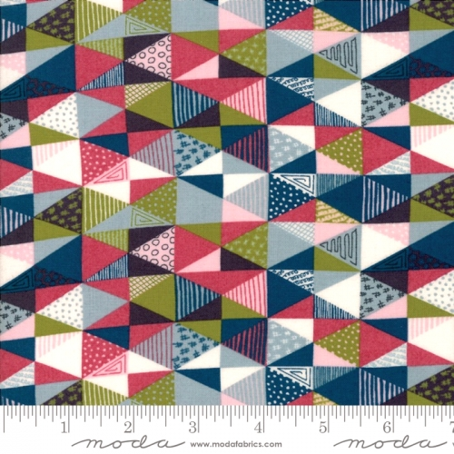 MODA FABRICS - Nova - Diamonds Multi