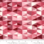MODA FABRICS - Nova - Diamonds Cherry Fizz