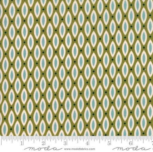 MODA FABRICS - Nova - Open Weave Olivenite