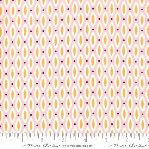 MODA FABRICS - Nova - Open Weave Pink Pinwheel - #2747-