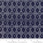 MODA FABRICS - Nova - Geometric Blue Graphite