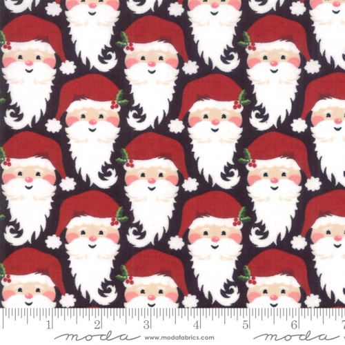 MODA FABRICS - Kringle Claus - Coal