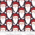MODA FABRICS - Kringle Claus - Coal