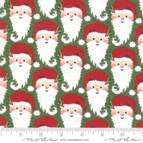 MODA FABRICS - Kringle Claus - Holly
