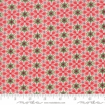 MODA FABRICS - Kringle Claus - Berry