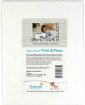 Quilters Select - Print & Piece 8.5 x 11 Inch Sheets 25 pcs by Alex Anderson