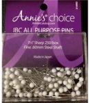 IBC All Purpose Pins 1 1/2 in. white