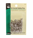 Dritz - Curved Safety Pins 1 1/16 Inch Size 1 50ct