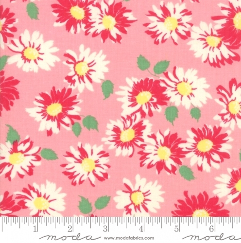 MODA FABRICS - Cheeky - Floral Pink - #1939-