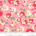 MODA FABRICS - Cheeky - Floral Pink