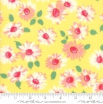 MODA FABRICS - Cheeky - Floral Yellow