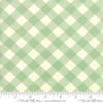 MODA FABRICS - Cheeky - Gingham Green