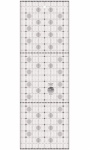 Creative Grids Charming Itty Bitty Eights Rectangle XL 8x24 Quilt Ruler CGRPRG5