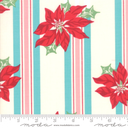 MODA FABRICS - Sweet Christmas - Coolmint