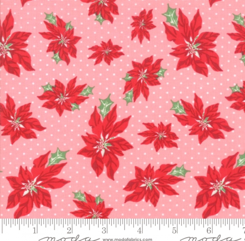 MODA FABRICS - Sweet Christmas - Pink Buttermint