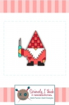Gnomeo Enamel Pin by Kelli Fannin Quilt Designs