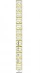 Omnigrid 1 inch X 12 inch Ruler