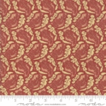MODA FABRICS - Sarahs Story - Turkey Red